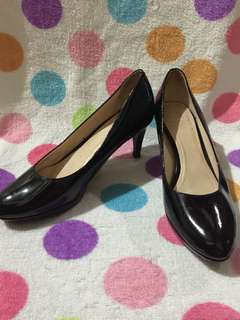3 inches Black Shoes