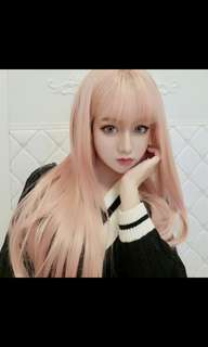 Preorder korean lolita fashion neat air bang wig *waiting time 15 days after payment is made *chat to buy torder