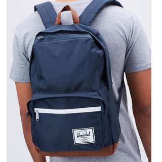 HERSCHEL Pop Quiz Backpack - Navy || RRP $140
