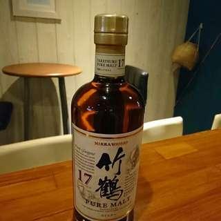 竹鶴17 whisky