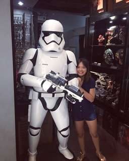 Life size Storm Trooper