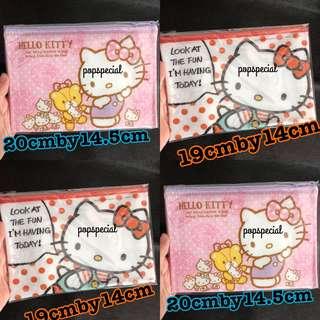Hello Kitty Japan Sanrio Zipper Bag