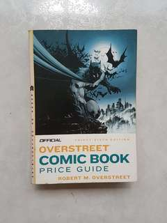 Overstreet Comic Book Price Guide 36th Edition Jim Lee Batman Cover