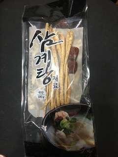 韓國人參雞湯包