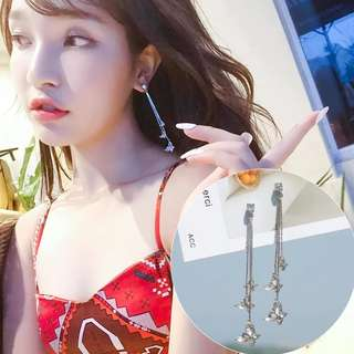 S925 Korean earrings