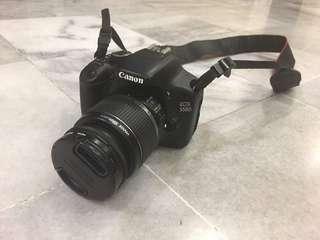 EOS Canon 550 D DSLR Set