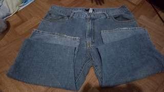 men's straight cut pants