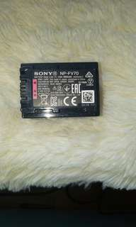 Sony battery (NP-FV70)
