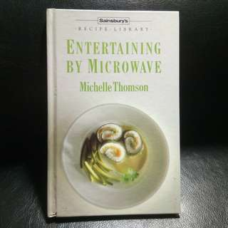 Book: ENTERTAINING BY MICROWAVE (Sainsbury's Recipe Library)