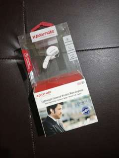Promate Lightweight Universal Wireless Mono Earphone