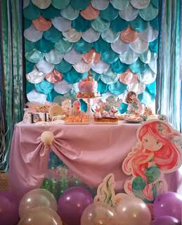 Mermaid Theme Party Rental Package