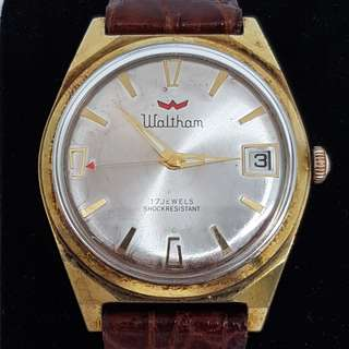 Waltham Hand Winding Vintage Watch