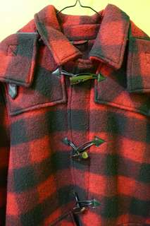 Zara Man Red Wool Coat