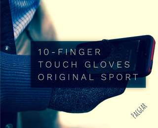 Original Sport AGLOVES 10-Finger TouchScreen Gloves Small/Medium
