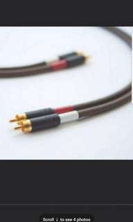 Belden 8402 with Switchcraft 3502AAU, Audiophile/High-End RCA Interconnect Cable Pair