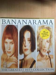 Bananarama greatest hits on vinyl