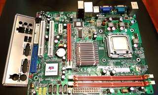Intel Pentium D 830 + G31 LGA775 底板