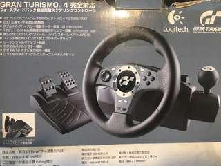 🚚 NEW Logitech steering wheel PS2 / PS3 / PC