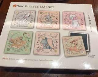 Disney puzzle magnet