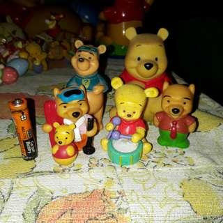 Pooh Winnie the Pooh set