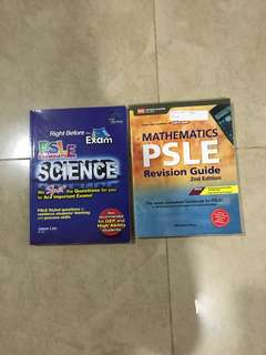 PSLE revision book (2 for $5)