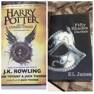 Novel - Harry Potter & Cursed Child & Fifty Shades Darker (II)