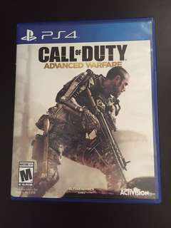 PS4 Call Of Duty Advanced Warfare (Used)