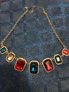 寶石頸鏈 Necklace