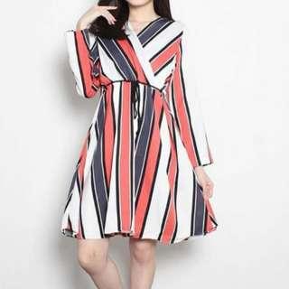 Bangkok stripe dress