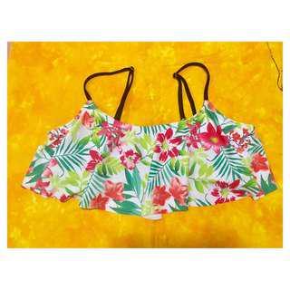 NEW! Floral Bikini Top
