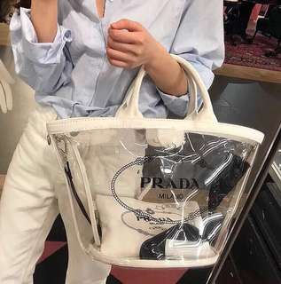 Prada tote bag shopping bag