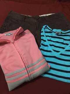 Baleno Jacket, Shirt, Shorts
