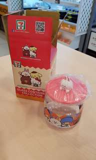 🚚 Sanrio cony container from 711 7-11