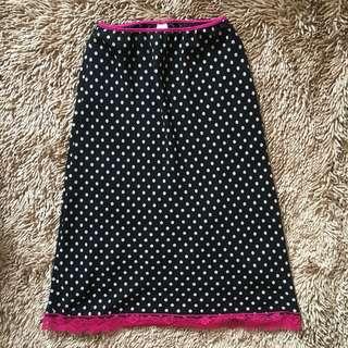 Polka skirt 2