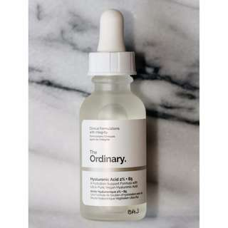 ✨ INSTOCK SALE: The Ordinary Hyaluronic Acid 2% + B5