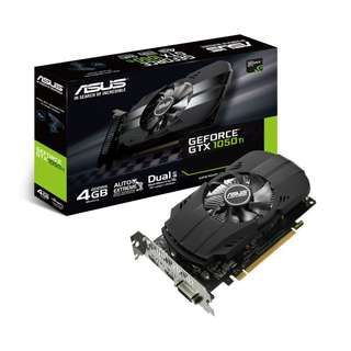 ASUS GeForce GTX 1050Ti Phoenix 4096MB GDDR5 PCI-Express Graphics Card