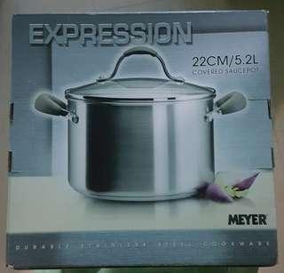 Meyer防燙手鋼煲