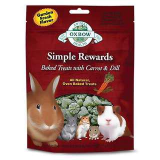 🚚 Oxbow Simple Rewards Baked Treats with Carrot & Dill