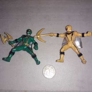 Power Rangers Mystic Force Set