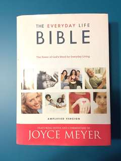 Joyce Meyer The Everyday Bible