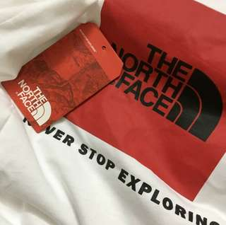 The north face 北臉 短袖