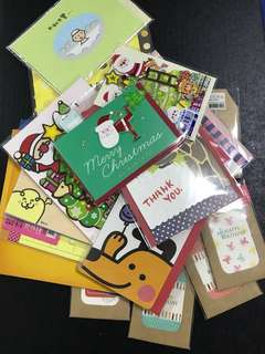 Assorted Cards & Envelopes