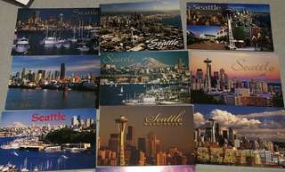 ⭐️ALL FOR $10⭐️ BRAND NEW Seattle Postcards