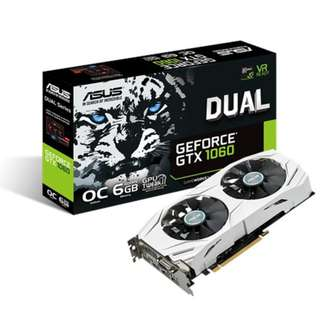 ASUS DUAL-GTX1060-O6G GeForce GTX 1060 6GB