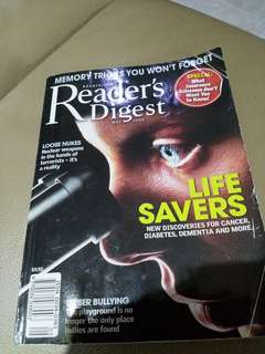 Readers Digest 2008