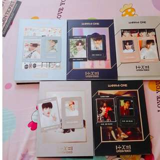 WTT Wanna one Undivided Album