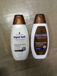 Schwarzkopf Repair & Care (Shampoo & Conditioner)