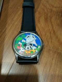 NEW AND NEVER USED! Limited Edition Mickey Mouse and Donald Duck Disney Store Watch (With unique serial number)