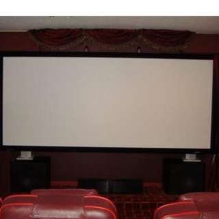 "STEWARD 82"" GRAYHAWK FIXED HOME THEATRE SCREEN"