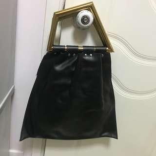 簡約幾何tote bag